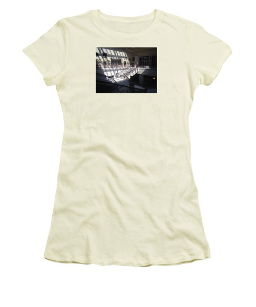 Chicago Art Institude Women's T-Shirt (Junior Cut) by Paul Meinerth