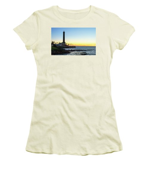 Chipiona Lighthouse Cadiz Spain Women's T-Shirt (Junior Cut) by Pablo Avanzini