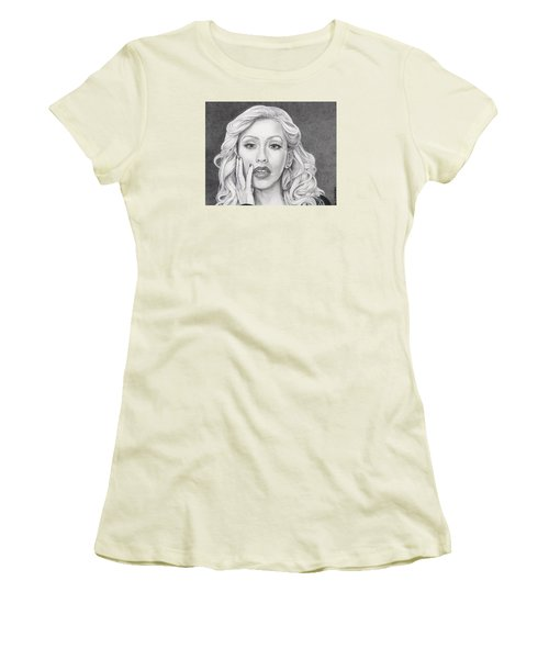 Christina Aguilera Women's T-Shirt (Athletic Fit)