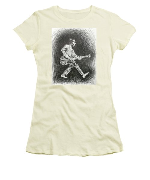 Chuck Berry Women's T-Shirt (Athletic Fit)