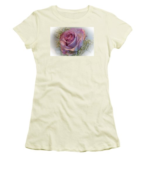 Cindy's Rose Women's T-Shirt (Junior Cut) by Judy Johnson