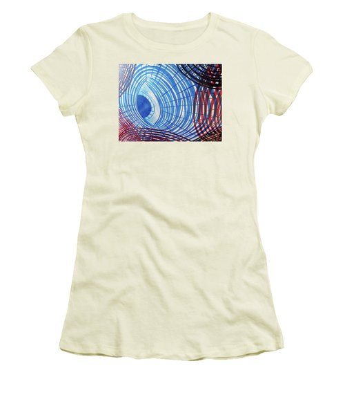 Circles No. 1 Women's T-Shirt (Athletic Fit)