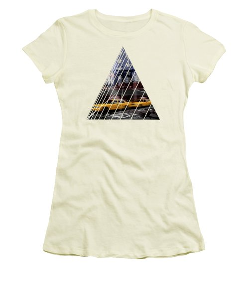 City-art Nyc Composing Women's T-Shirt (Junior Cut)
