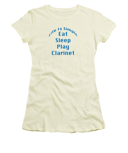 Clarinet Eat Sleep Play Clarinet 5512.02 Women's T-Shirt (Athletic Fit)
