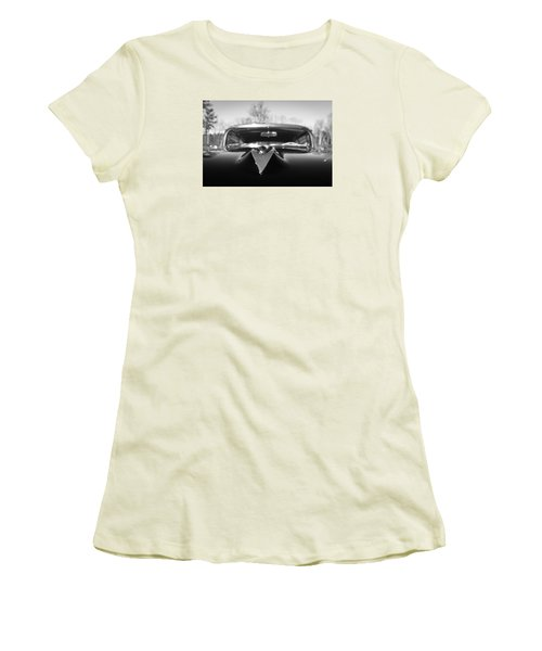 Women's T-Shirt (Junior Cut) featuring the photograph Classic Buick II by Wade Brooks