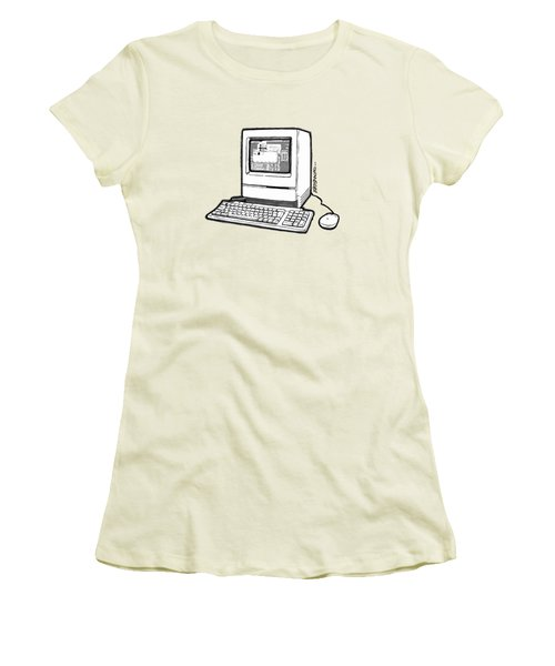 Classic Fruit Box Women's T-Shirt (Junior Cut) by Monkey Crisis On Mars
