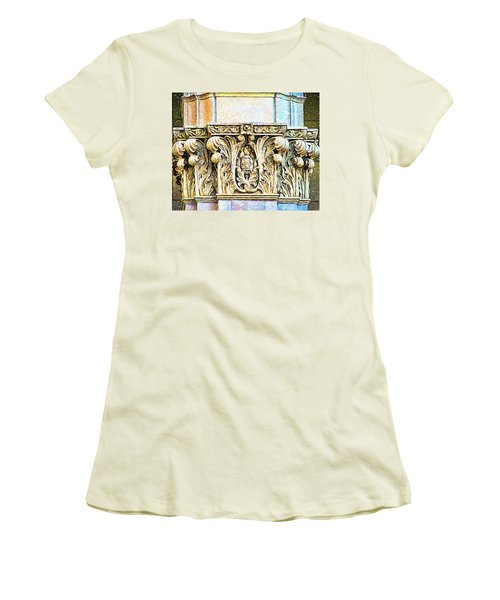 Women's T-Shirt (Junior Cut) featuring the digital art Classic by Wendy J St Christopher