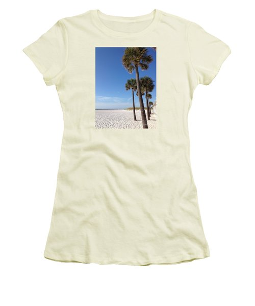 Clearwater Palms Women's T-Shirt (Athletic Fit)