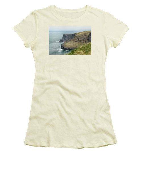 Cliffs Of Moher 1 Women's T-Shirt (Athletic Fit)