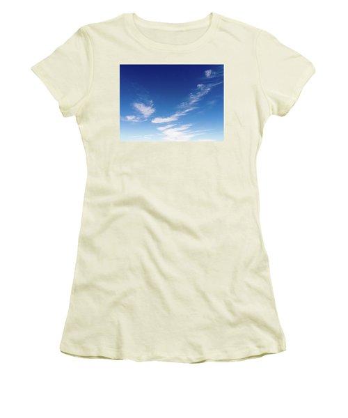 Cloud Sculpting Women's T-Shirt (Athletic Fit)