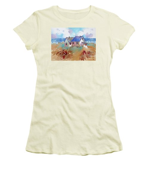 Coastal Charm Women's T-Shirt (Athletic Fit)