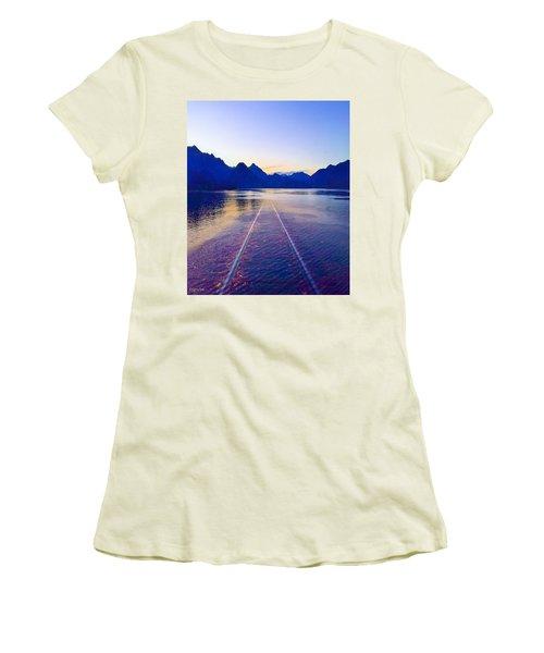 Coastal Rail Road Women's T-Shirt (Athletic Fit)