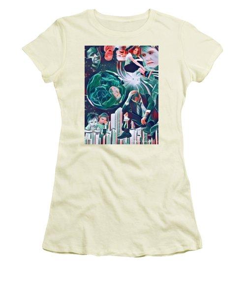 Cognitive Dissonance Women's T-Shirt (Athletic Fit)