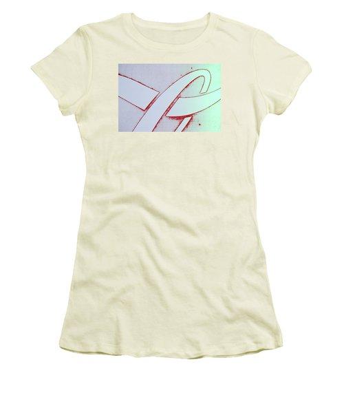 Women's T-Shirt (Junior Cut) featuring the photograph Coke by Laurie Stewart