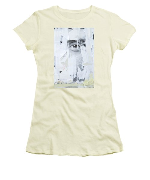 Women's T-Shirt (Junior Cut) featuring the photograph Street Collage 2 by Colleen Williams
