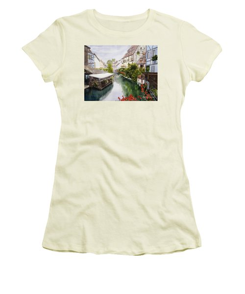 Colmar Canal Women's T-Shirt (Athletic Fit)