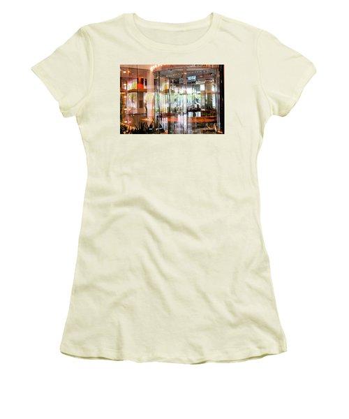 Color Explosion Women's T-Shirt (Athletic Fit)