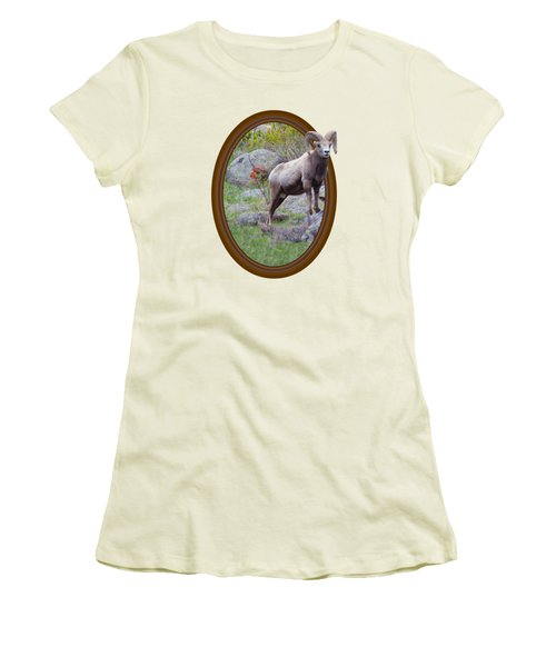 Colorado Bighorn Women's T-Shirt (Athletic Fit)