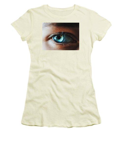 Women's T-Shirt (Junior Cut) featuring the photograph Colors by Parker Cunningham