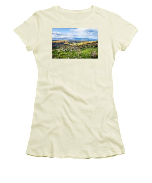 Colourful Undulating Irish Landscape In Kerry  Women's T-Shirt (Junior Cut) by Semmick Photo