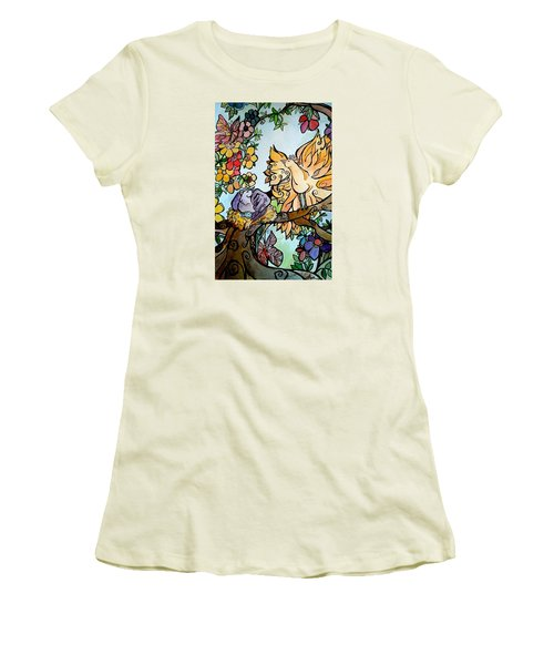 Come Grow Old With Me The Best Is Yet To Be Women's T-Shirt (Junior Cut) by Claudia Cole Meek