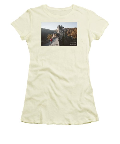 Coming Home Women's T-Shirt (Junior Cut) by JR Photography