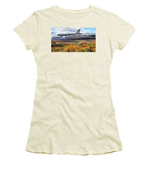 Coming Home Women's T-Shirt (Junior Cut) by Peter Chilelli