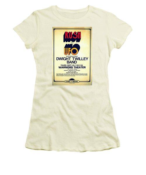Concert Poster 6 Women's T-Shirt (Athletic Fit)
