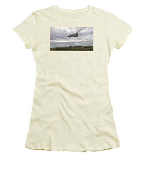 Concorde - High Speed Pass_2 Women's T-Shirt (Athletic Fit)