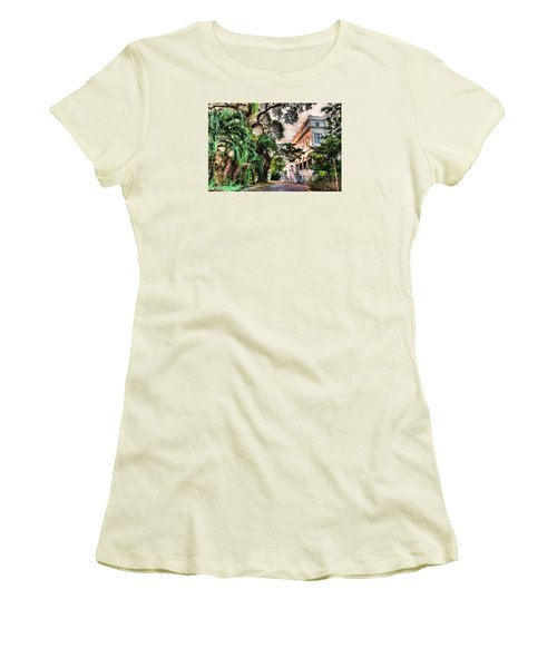 Concrete Jungle Women's T-Shirt (Athletic Fit)