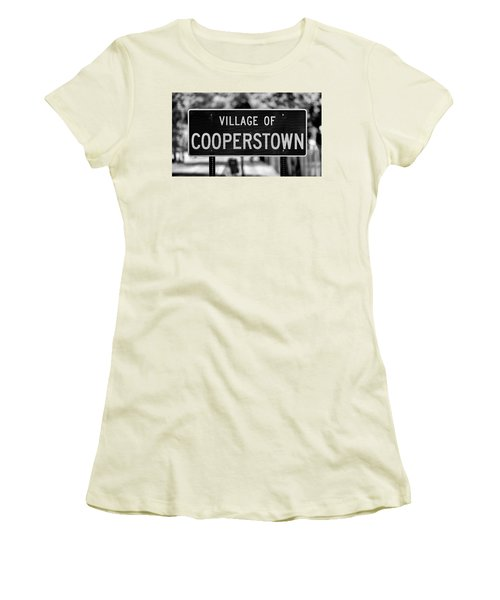 Cooperstown Women's T-Shirt (Athletic Fit)