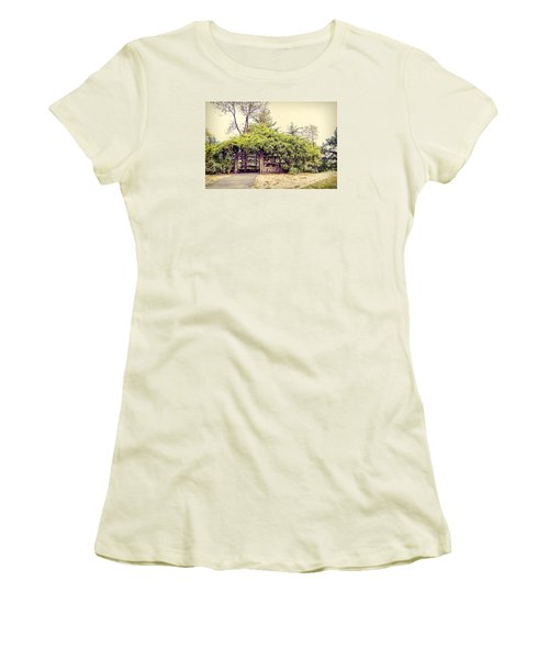 Cop Cot - Central Park Women's T-Shirt (Junior Cut) by Paulette B Wright