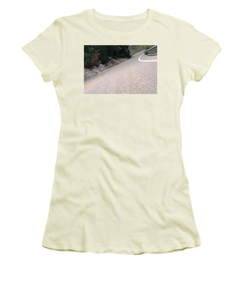 Corner To Corner Women's T-Shirt (Junior Cut) by David S Reynolds