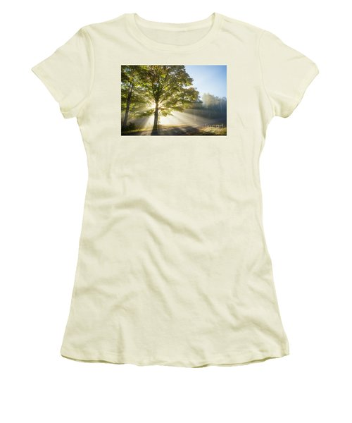 Country Road Women's T-Shirt (Junior Cut) by Alana Ranney