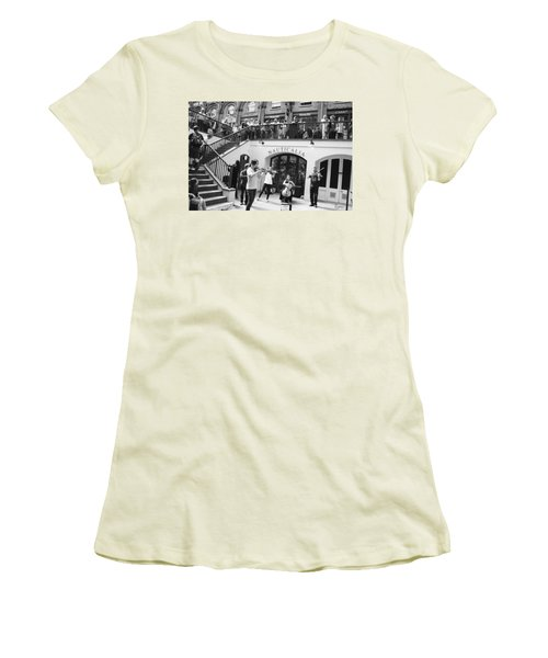 Covent Garden Music Women's T-Shirt (Athletic Fit)