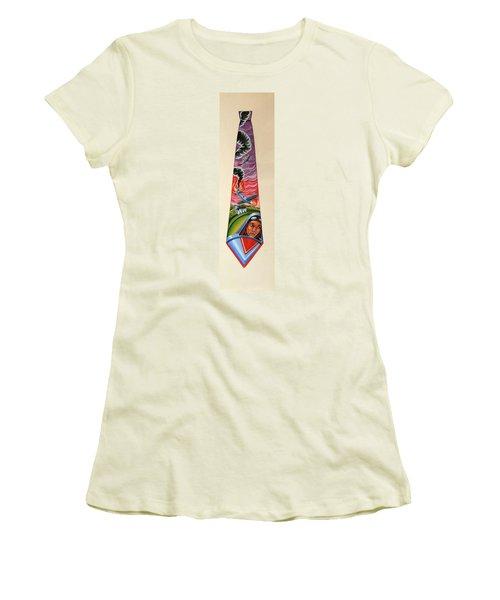 Crash Landing Women's T-Shirt (Athletic Fit)