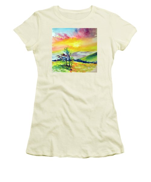 Creation Sings Women's T-Shirt (Athletic Fit)