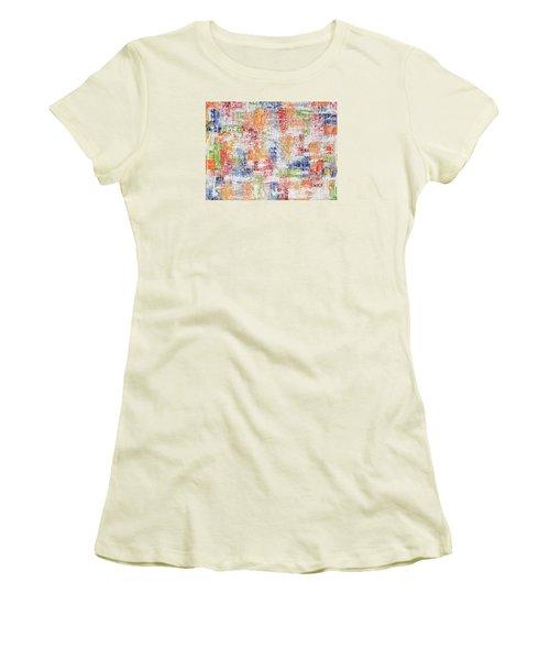 Criss Cross Women's T-Shirt (Junior Cut)