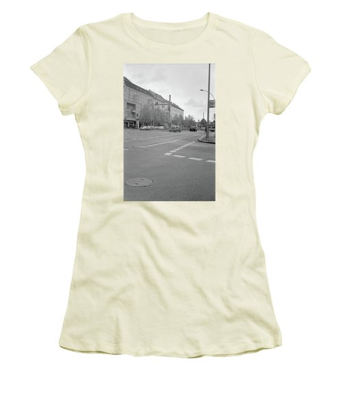 Crossroads In Prenzlauer Berg Women's T-Shirt (Athletic Fit)