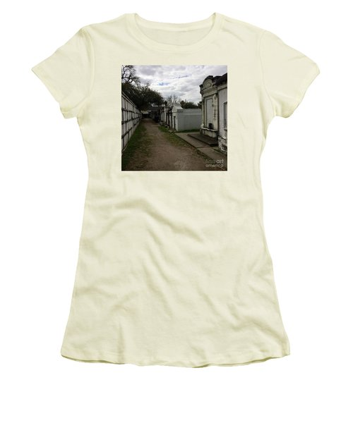 Crypts Women's T-Shirt (Junior Cut) by Kim Nelson