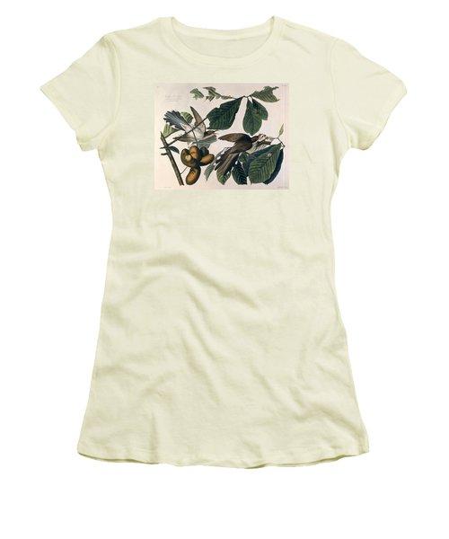 Cuckoo Women's T-Shirt (Junior Cut) by John James Audubon