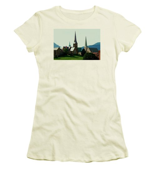 Cumberands Steeples Women's T-Shirt (Athletic Fit)