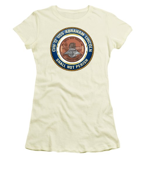 Cvn-72 Uss Abraham Lincoln Women's T-Shirt (Athletic Fit)