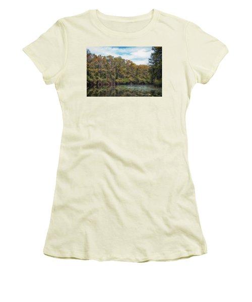 Cypress Jungle Women's T-Shirt (Athletic Fit)