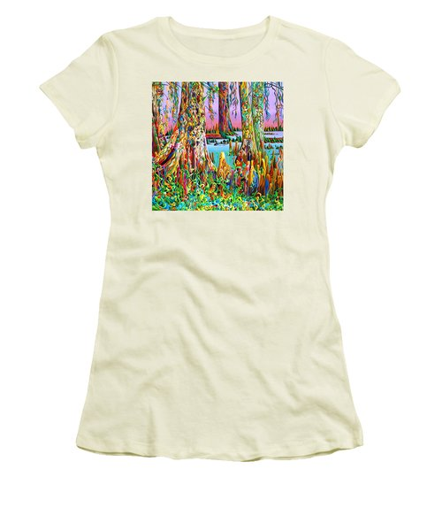 Cypress Spirit Rising Women's T-Shirt (Athletic Fit)