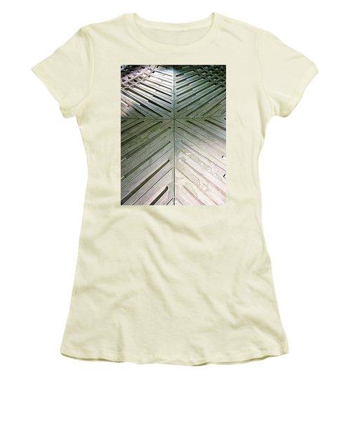 D C Metro 5 Women's T-Shirt (Junior Cut) by Randall Weidner