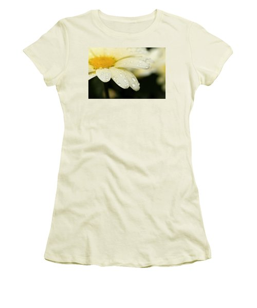 Daisy In Spring Women's T-Shirt (Junior Cut) by Angela Rath