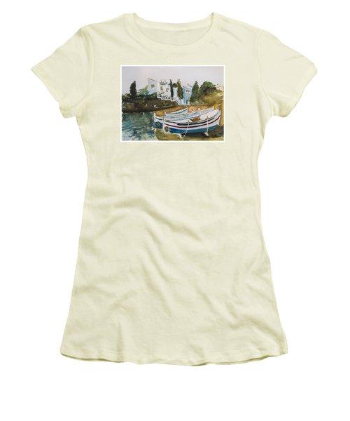 Dali House From Portlligat Women's T-Shirt (Junior Cut)