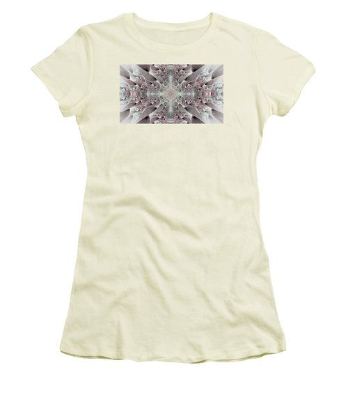 Damask Women's T-Shirt (Athletic Fit)