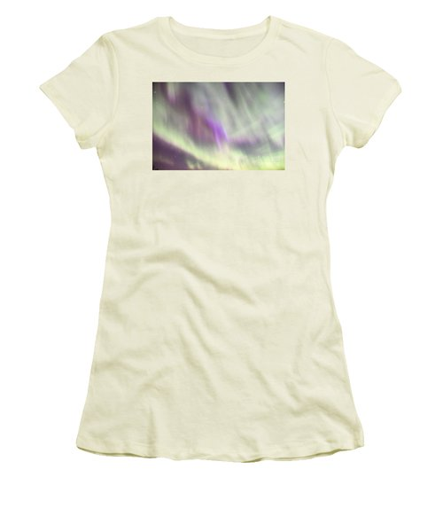 Women's T-Shirt (Junior Cut) featuring the photograph Dancing With The Stars by Larry Ricker